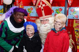 Sinterklaas in Winkelcentrum Coevering
